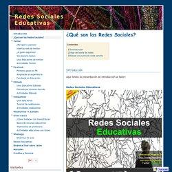 ¿Qué son las Redes Sociales? - Redes Sociales Educativas