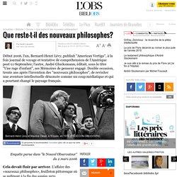 Que reste-t-il des nouveaux philosophes? - 15 juillet 2008