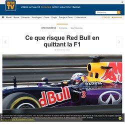 Ce que risque Red Bull en quittant la F1