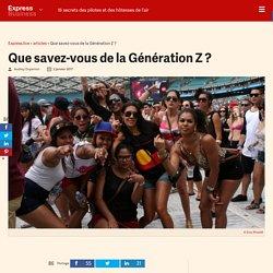 Que savez-vous de la Génération Z ? - Express [FR]