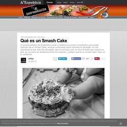 Qué es un Smash Cake