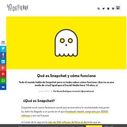 Snapchat: Qué es, cómo funciona y por qué deberías saberlo