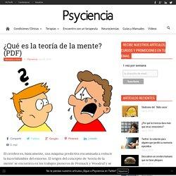 ¿Qué es la teoría de la mente? (PDF) - Psyciencia