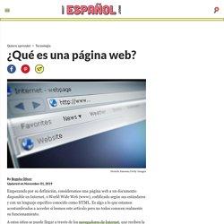 ¿Qué es una página web? Tipos, Elementos