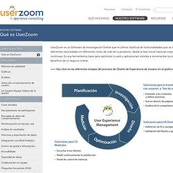 Qué es UserZoom