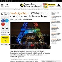 Vu du Québec. JO 2024 : Paris a choisi de couler la francophonie