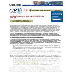 Québec géographique - Géo Info