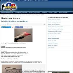 Québec Pêche - La Rabbit Strip Diver, avec anti-herbes