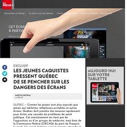 Québec doit sepencher sur les dangers des écrans