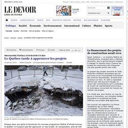 Le Québec tarde à approuver les projets