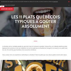 Les 11 plats québécois typiques à goûter absolument