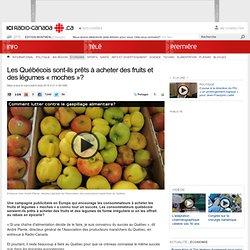 Les Québécois sont-ils prêts à acheter des fruits et des légumes « moches »?