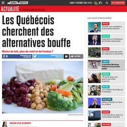 Les Québécois cherchent des alternatives bouffe