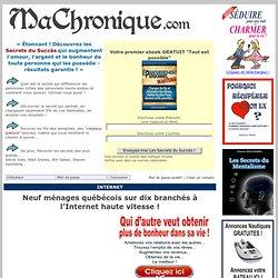 Neuf ménages québécois sur dix branchés à l'Internet haute vitesse !