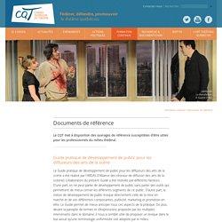 CQT - le Conseil québécois du théâtre / Documents de référence