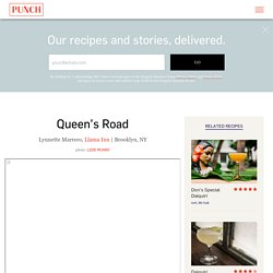 Queen's Road Cocktail Recipe