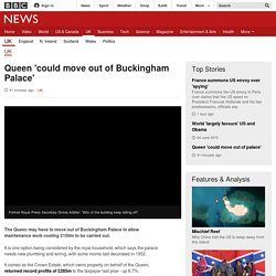Queen 'could move out of Buckingham Palace' - BBC News