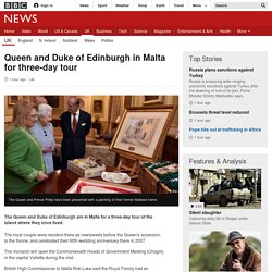 Queen and Duke of Edinburgh in Malta for three-day tour