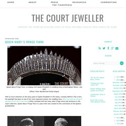 Queen Mary's Fringe Tiara