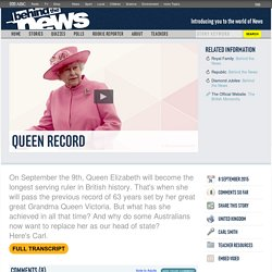 Queen Record: 08/09/2015, Behind the News
