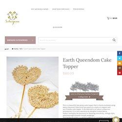 Shop Earth Queendom Cake Topper online