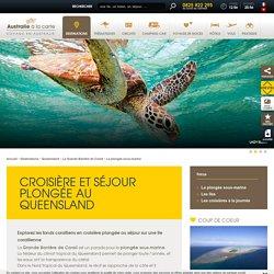 Plongée sous-marine au Queensland : croisière plongée et séjour île sur la Grande Barrière de Corail - Voyages Australie à la carte