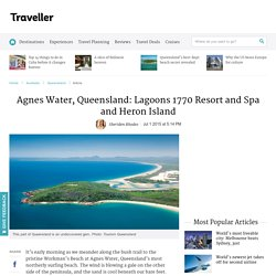 Agnes Water, Queensland: Lagoons 1770 Resort and Spa and Heron Island