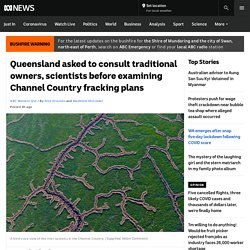 Queensland asked to consult traditional owners, scientists before examining Channel Country fracking plans