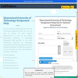 Queensland University of Technology Assignment & Homework Help