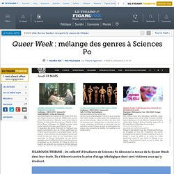 Queer Week : mélange des genres à Sciences Po