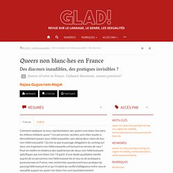 Queers non blanc·hes en France – GLAD!