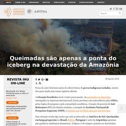 Queimadas são apenas a ponta do iceberg na devastação da Amazônia