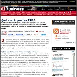 Quel avenir pour les ERP ?