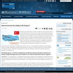 Quel avenir pour les relations UE-Turquie ?