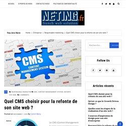 Quel CMS choisir pour la refonte de son site web ? – Neting