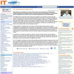 IoT : quel impact sur la relation client ?