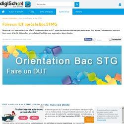 Quel IUT choisir après le Bac STMG ?