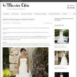 Quel tissu choisir pour sa robe de mariée ?