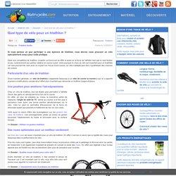 Quel type de vélo pour un triathlon?
