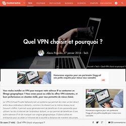 Quel VPN choisir et pourquoi ? - Tech