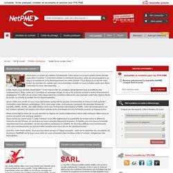 Creation d'entreprise cr?ation soci?t? sarl eurl sci aide conseil pour la creation d?entreprise NetPME