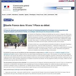 Quelle France dans 10 ans ? Place au débat - CGSP
