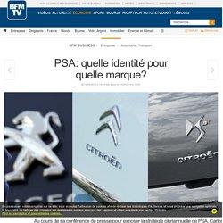 PSA: quelle identité pour quelle marque?