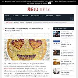 Quelle place des emojis dans le langage numérique ?