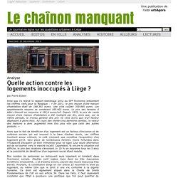 Quelle action contre les logements inoccupés à Liège?
