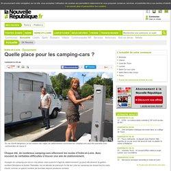 Quelle place pour les camping-cars ? - 14/08/2014