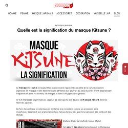 Quelle est la signification du masque Kitsune ?