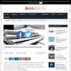 Presse et social média