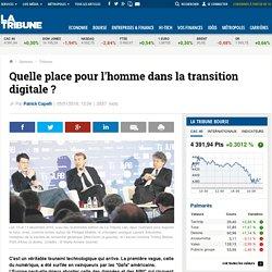 Quelle place pour l'homme dans la transition digitale ?