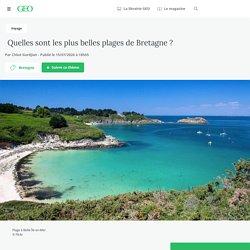 Quelles sont les plus belles plages de Bretagne ? - Geo.fr